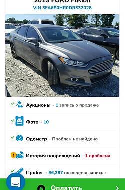 Седан Ford Fusion 2013 в Костянтинівці