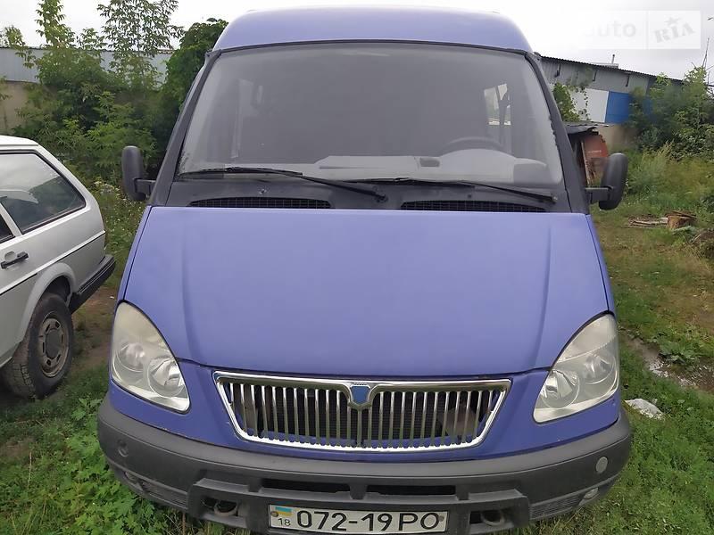 Минивэн ГАЗ 2752 Соболь 2003 в Луцке