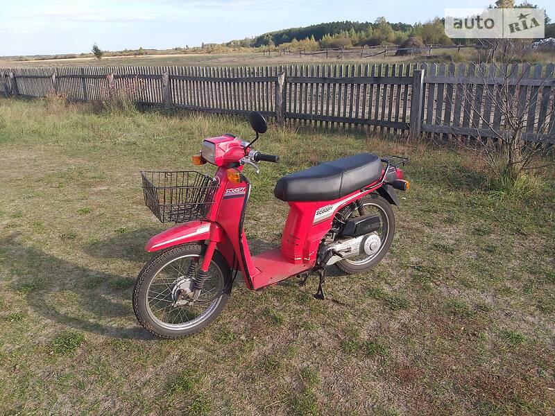 Honda Scoopy 1987 в Любешове