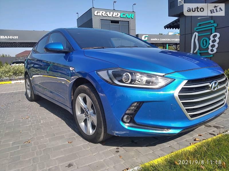 Hyundai Elantra 1.6 D Europe 2016