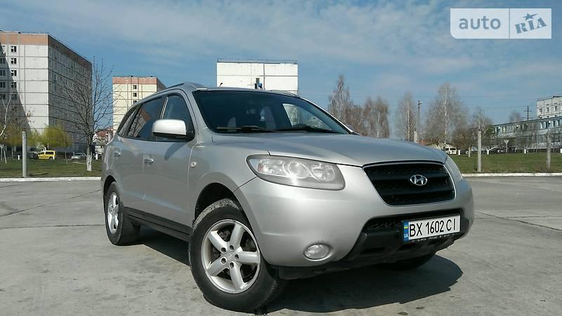 Hyundai Santa FE 2007 року в Хмельницьку