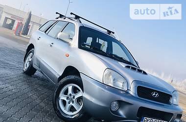 Hyundai Santa FE 2002 в Хусте