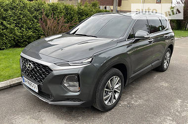 Позашляховик / Кросовер Hyundai Santa FE 2018 в Києві