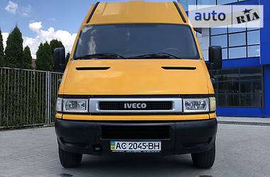 Микроавтобус грузовой (до 3,5т) Iveco Daily груз. 2005 в Мукачево