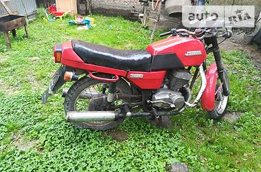 Jawa (Ява)-cz 638 1988 в Хусті