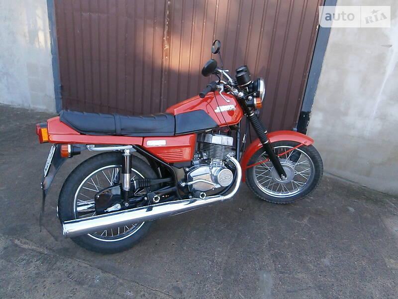 Jawa (ЯВА) 350 1989 в Мариуполе