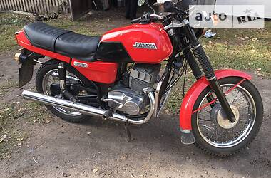 Jawa (ЯВА) 350 1987 в Борзне