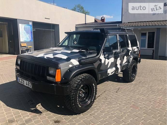 Jeep Cherokee 1990 в Луцке