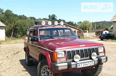 Jeep Cherokee 1989 в Ивано-Франковске