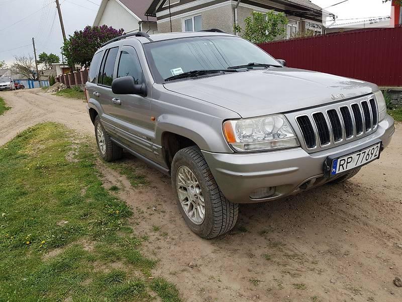 Jeep Grand Cherokee 2002 в Заставной