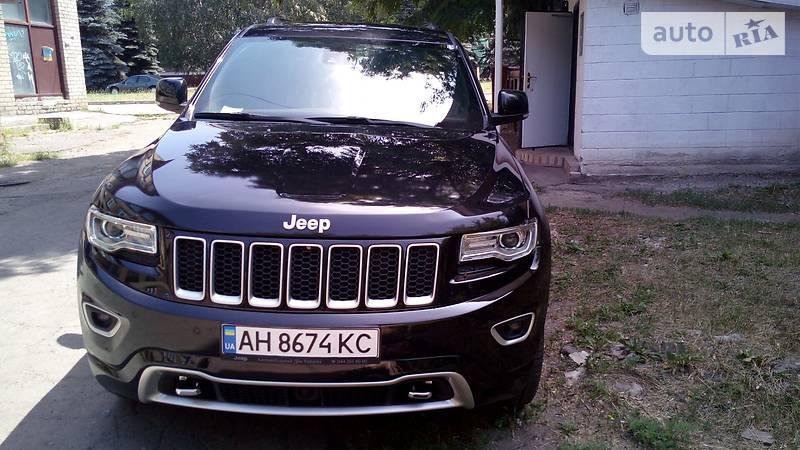 Jeep Grand Cherokee 2016 года в Донецке