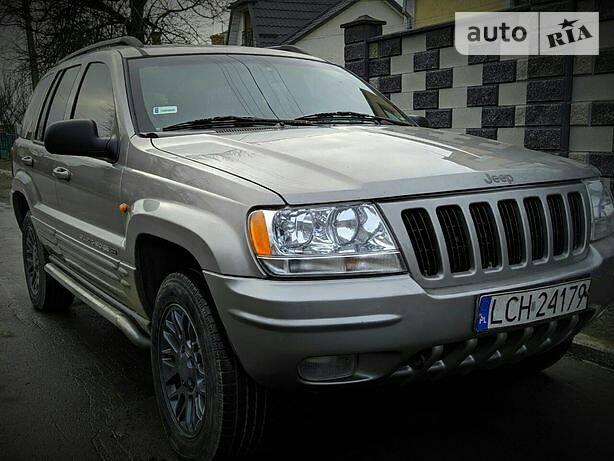 Jeep Grand Cherokee 2002 в Ровно