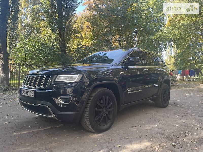 Внедорожник / Кроссовер Jeep Grand Cherokee 2013 в Киеве
