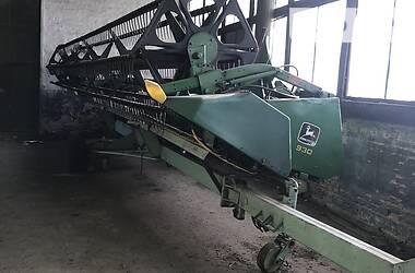Зернова жатка John Deere 922 2005 в Золотоноше