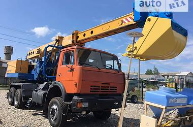 Колісний екскаватор КамАЗ 53229 2012 в Василівці
