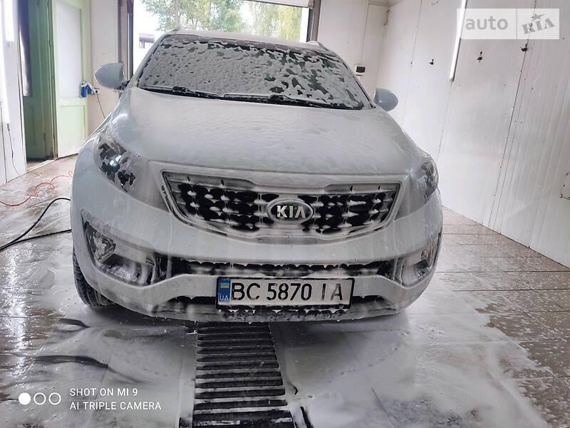 Позашляховик / Кросовер Kia Sportage 2014 в Золочеві