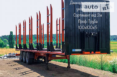 Лесовоз / Сортиментовоз - полуприцеп Kogel SAF 2006 в Костополе