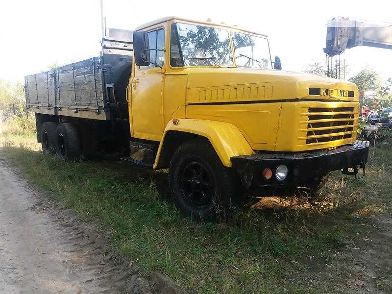 Бортовий КрАЗ 250 1992 в Києві