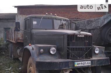 Бортовий КрАЗ 257 1983 в Коростишеві