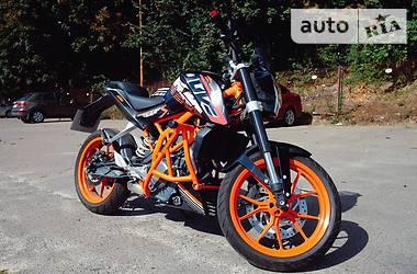 KTM 390 Duke 2014 в Львові