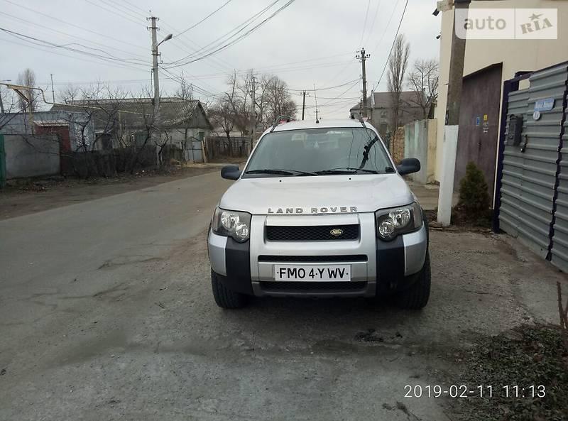 Land Rover Freelander 2004 року в Одесі