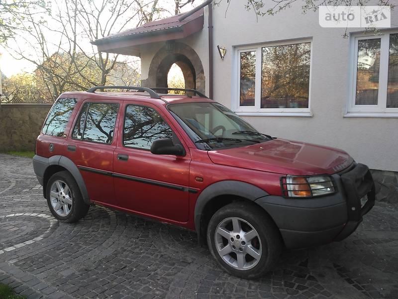 Land Rover Freelander 1999 года в Львове