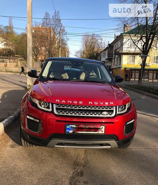 Land Rover Range Rover Evoque 2016 года в Кропивницком (Кировограде)