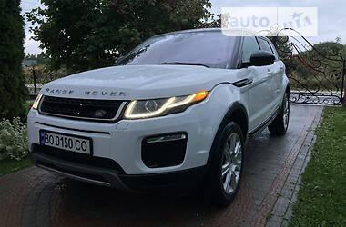 Позашляховик / Кросовер Land Rover Range Rover Evoque 2015 в Тернополі