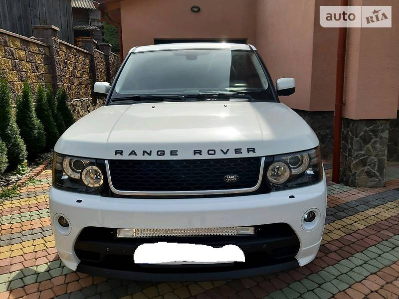 Land Rover Range Rover Sport supergarg