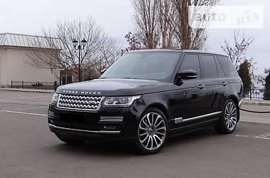 Land Rover Range Rover Autobiography SVR