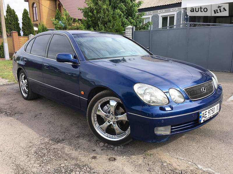 Lexus GS 2000 года в Днепре (Днепропетровске)