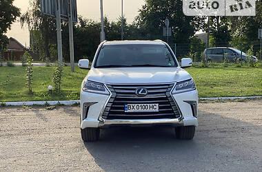 Внедорожник / Кроссовер Lexus LX 570 2018 в Киеве