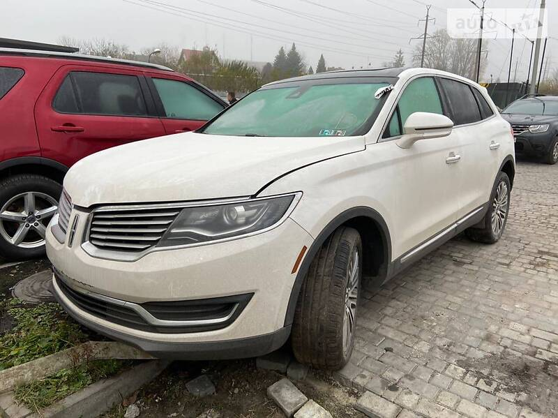 Lincoln MKX 2016 в Львові