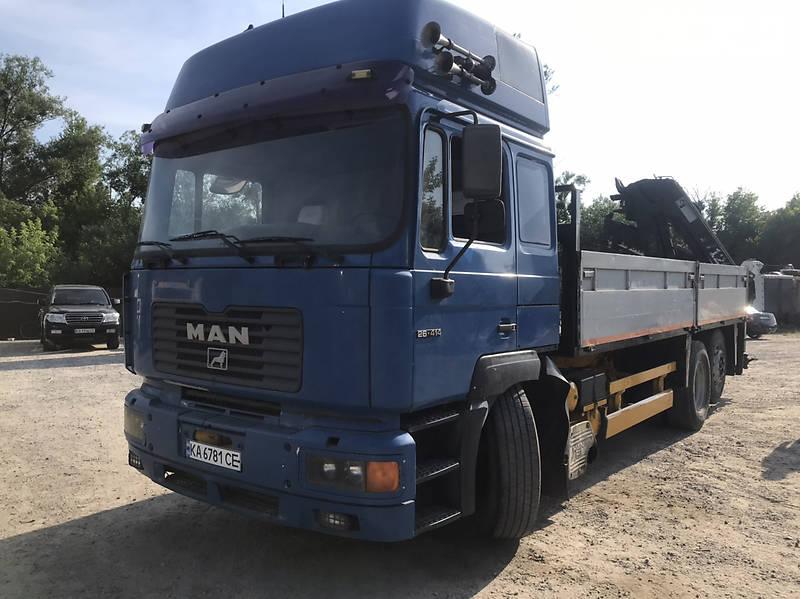 Кран-маніпулятор MAN 26.412 2000 в Києві
