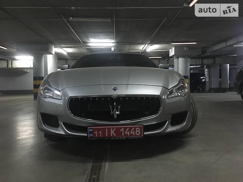 Maserati Quattroporte 2013 года