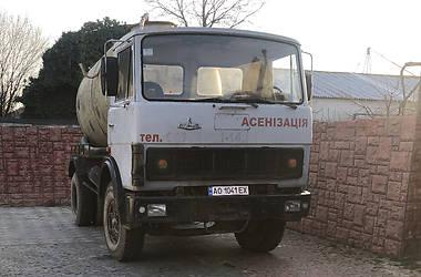 Машина ассенизатор (вакуумная) МАЗ 6303 1999 в Мукачево