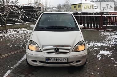 Mercedes-Benz A 170 2001 в Львове