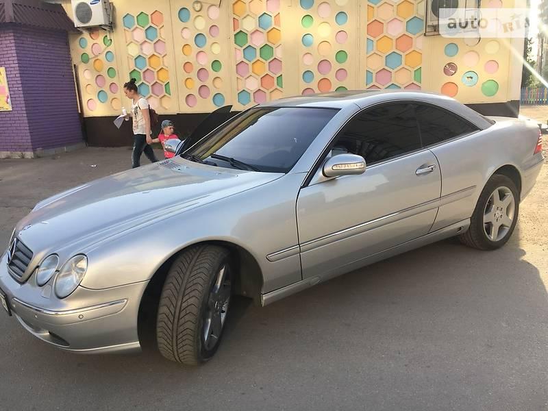 Mercedes-Benz CL 500 2003 в Запорожье