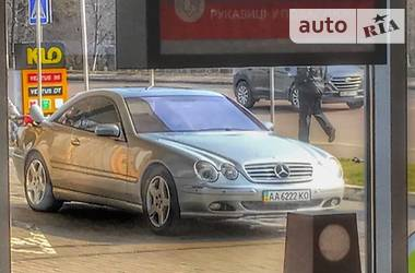 Mercedes-Benz CL 500 2001 в Киеве