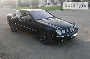 Mercedes-Benz CL 600 2000 в Днепре