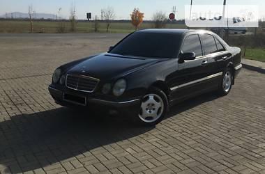 Mercedes-Benz E 200 2001 в Ужгороде