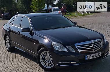 Mercedes-Benz E 200 2012 в Черновцах
