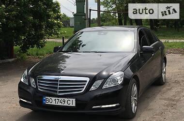 Mercedes-Benz E 200 2012 в Бучаче