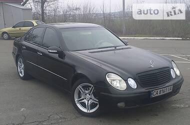Mercedes-Benz E 200 2003 в Корсуне-Шевченковском
