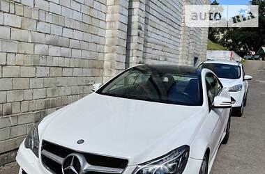 Купе Mercedes-Benz E 200 2013 в Львове