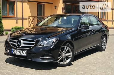 Mercedes-Benz E 220 2014 в Луцке