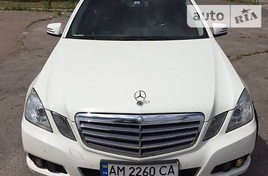 Mercedes-Benz E 220 2011 в Житомире