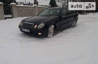 Mercedes-Benz E 220 2003 в Виннице