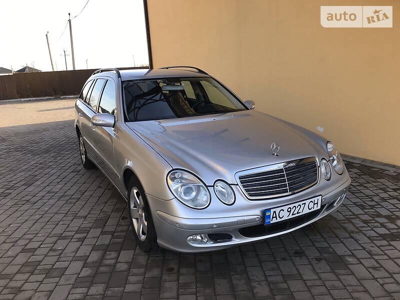 Mercedes-Benz E 220 2003 в Луцке