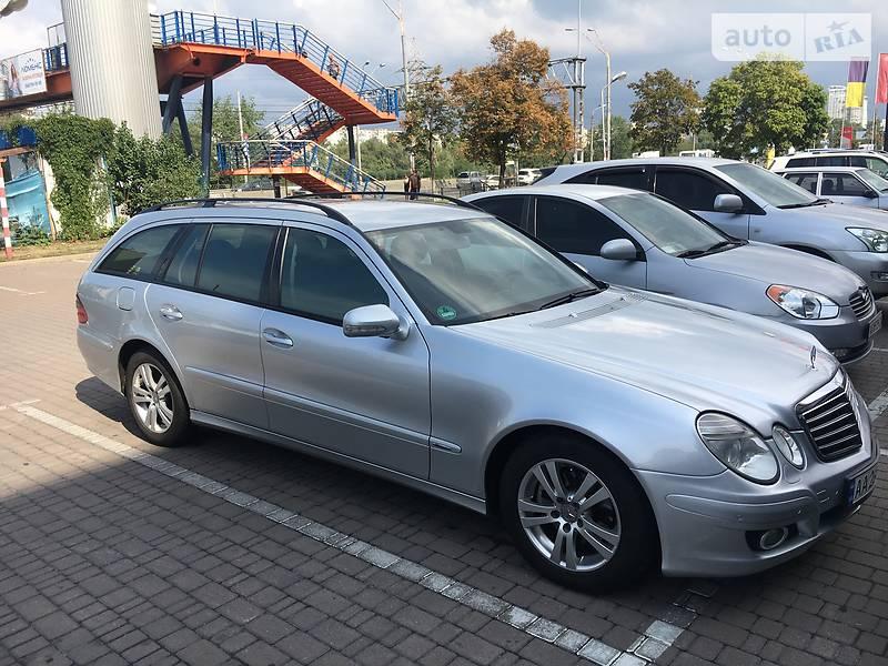 Унiверсал Mercedes-Benz E 220 2008 в Києві